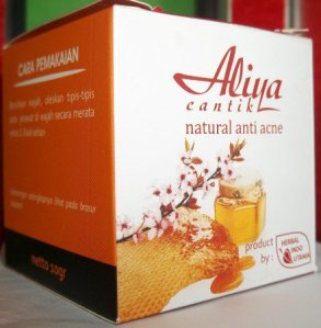 Aliya anti acne